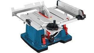 getlinkyoutube.com-Bosch GTS 10 XC Настольная циркулярная пила (демонстрация функций в работе)