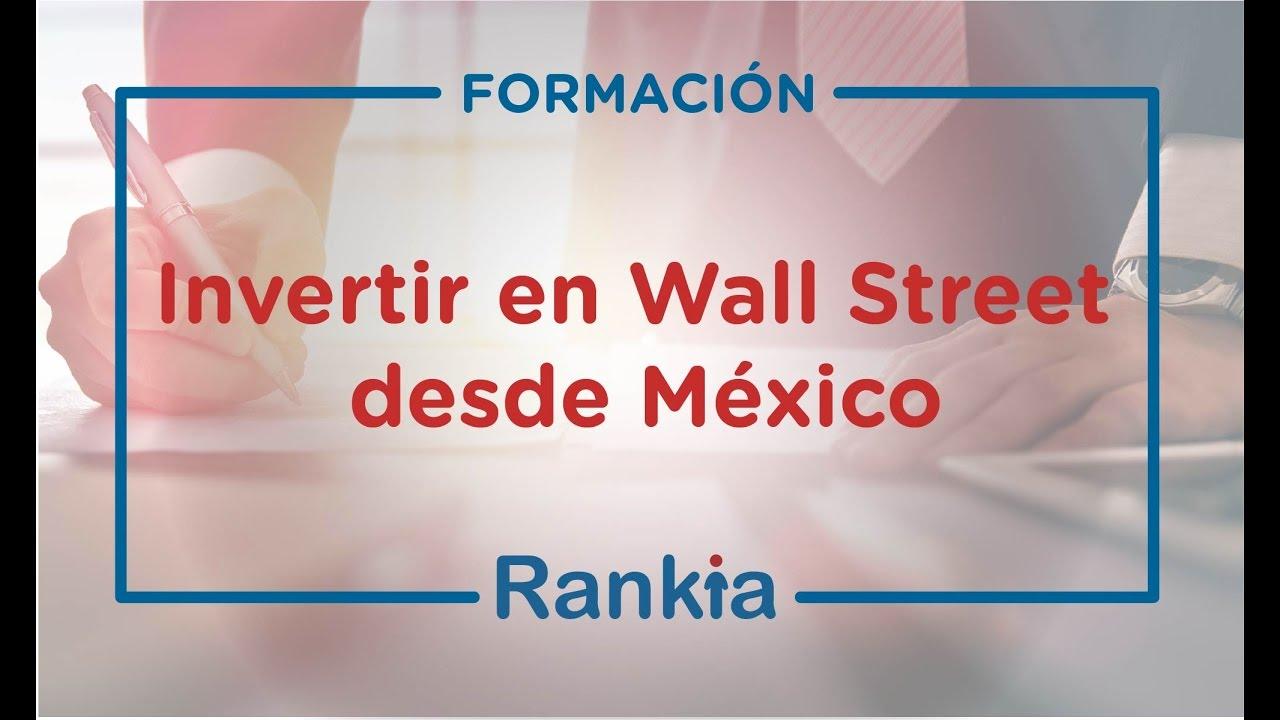 Invertir en forex desde mexico