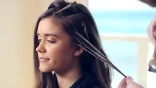 getlinkyoutube.com-Contour & Highlight tutorial: Blonding Haircolor Technique