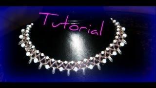 getlinkyoutube.com-Come fare un girocollo con le perline .