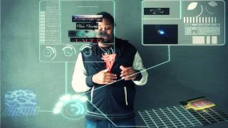 getlinkyoutube.com-After Effects - Holographic Computer