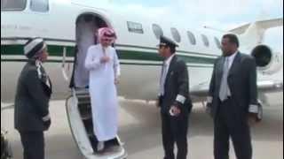 getlinkyoutube.com-First Lady Pilot with Prince Alwaleed Bin Talal