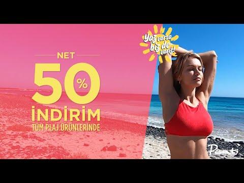 Penti'de Tüm Plaj Ürünleri Net %50 İndirim Fırsatıyla Seni Bekliyor!