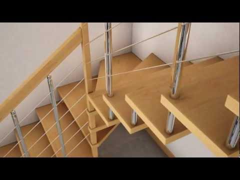 Come progettare delle scale tutto per casa for Arredare pianerottolo scale