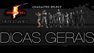 getlinkyoutube.com-Resident Evil 5 - Mercenaries Dicas Gerais [NARRADO]