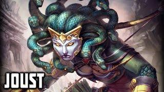 DOMINATION! (Medusa Damage Build) - Medusa Joust 3vs3 Gameplay SMITE