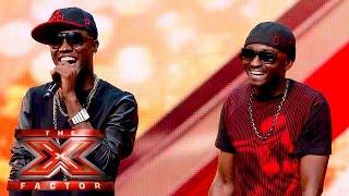 getlinkyoutube.com-Menn on Poinnt Turn It Up for our Judges   The X Factor UK 2015