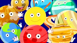 getlinkyoutube.com-Planets Song For Children | Nursery Rhymes With Lyrics For Kids