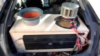 "getlinkyoutube.com-Honda Civic soundcheck: DDZ 15"" + DD m4a = 152,5 dB @ music"