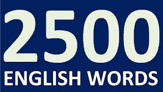 getlinkyoutube.com-2500 ENGLISH WORDS for speaking English fluently. Learning English. Learn English speaking easily