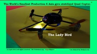 getlinkyoutube.com-The World's Smallest Quad Copter with 6 Axis gyros in production today.