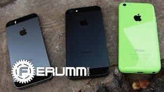 getlinkyoutube.com-iPhone 5S VS iPhone 5C VS iPhone 5 Сравнение - сильные и слабые места - от FERUMM.COM