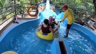 getlinkyoutube.com-Coaster Tower Water Slide at Wet World Water Park