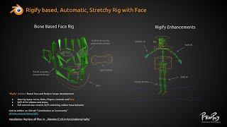 """Rigify Addon"" for Blender (PitchiPoy Version) – Tutorial"