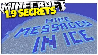 getlinkyoutube.com-Hide Secret Messages In Ice With The Latest Minecraft 1.9 Update!