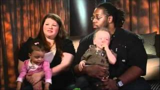 getlinkyoutube.com-Biracial Couple Gives Birth to Twins: One Black, One White | Good Morning America | ABC News