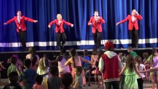 getlinkyoutube.com-Red Coat Party Dances