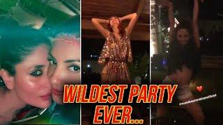 Malaika Arora, Kareena Kapoor DRUNK DANCE, Wild Party VIDEOS  | Amrita Arora Birthday Goa Birthday