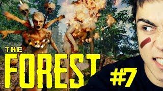 getlinkyoutube.com-WYPRAWA I BUDOWA MURU! - The Forest #7
