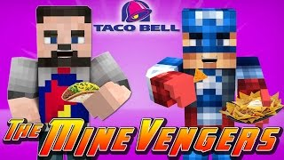 getlinkyoutube.com-Minecraft MineVengers - WORKING AT TACO BELL!!