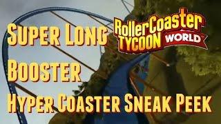 getlinkyoutube.com-The Super Long Booster Hyper Roller Coaster - RollerCoaster Tycoon World