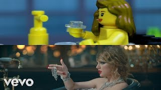 LEGO Taylor Swift   Look What You Made Me Do (Comparison)