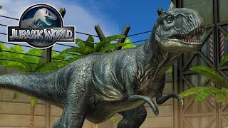 getlinkyoutube.com-Jurassic World - The Game - BREEDING DINOSAURS! #2