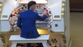 "1/9 : CAMERON CARPENTER mit der Mighty WURLITZER - ""Fest am Kulturforum"" - Berlin 15.06.2014"