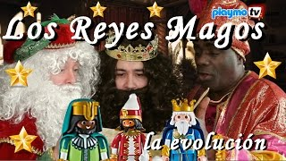 getlinkyoutube.com-Reyes Magos de Playmobil - La evolución de los personajes