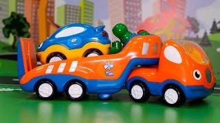 getlinkyoutube.com-Машинки мультфильм. Эвакуатор спешит на помощь. Развивающий мультфильм.