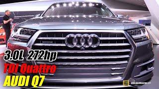 getlinkyoutube.com-2016 Audi Q7 TDI Quattro - Exterior and Interior Walkaround - Debut at 2015 Detroit Auto Show