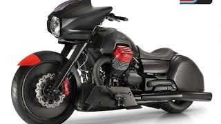 getlinkyoutube.com-Moto Guzzi MGX-21 Bagger Concept Bike Prototype Custom Audace Eldorado