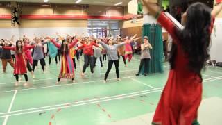 getlinkyoutube.com-Balam pichkari dance ( ecole de danse triwat )