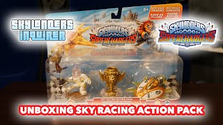 Unboxing the Skylanders SuperChargers: Sky Racing Action Pack