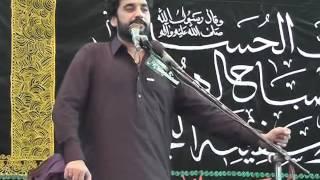 8 Muharram 2016 (1438) Zakir Waseem Abbas Baloch Rasul Nagar