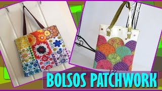 getlinkyoutube.com-Bolsos y Carteras Patchwork - En Tela Estilo y Tendencias