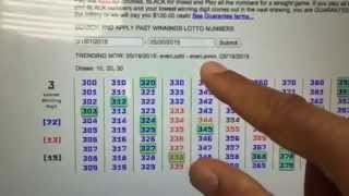 getlinkyoutube.com-LOTTODDS: NJ Pick 3 - Chart 3 Prediction - May 20, 2015