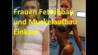 getlinkyoutube.com-Frauen Muskelaufbau und Fettabbau Einkauf