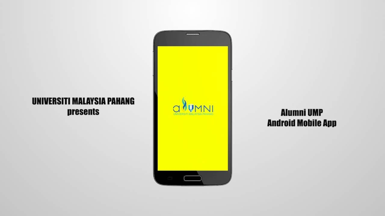 Alumni UMP Android Mobile App Promotion Video