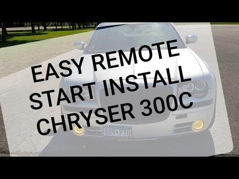 FlashLogic FLRSCH5 Remote Start Installation () Chrysler 300C
