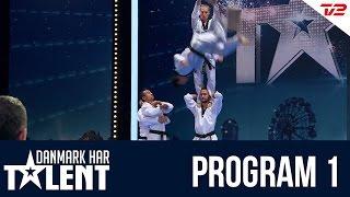getlinkyoutube.com-'DTDT' Taekwondo show fra Valby - Danmark har talent - Program 1