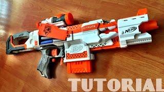 getlinkyoutube.com-[TUTORIAL] How to make a DUMMY BATTERY for your Nerf Gun
