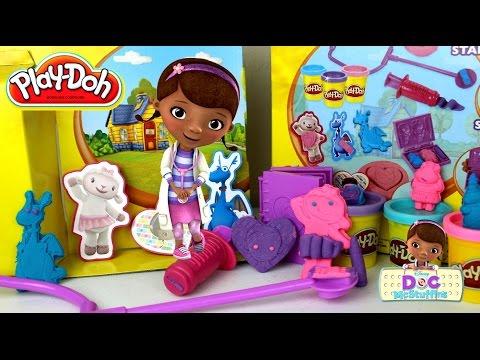 Plastilina Play Doh Doctora Juguetes Kit de Doctora   Doc McStuffins Play Doh  Doctor Kit