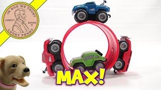 getlinkyoutube.com-Max Tow Truck Mini Off-Road Playset, Jakks Pacific.  It Pulls a 5lb Sledge!