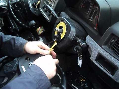 Проверка работы сигналов на руле Pajero Io
