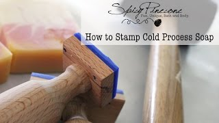 getlinkyoutube.com-How to Stamp Cold Process Soap