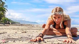 getlinkyoutube.com-Yin Yoga Fusion  ♥ Best Yoga For Flexibility