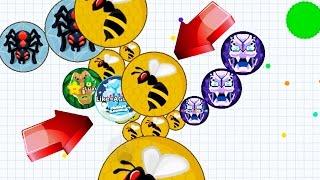 getlinkyoutube.com-Agar.io Biggest Fails/Biggest Team Combback Agar.io Best Moments Mobile!