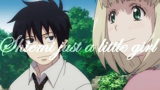getlinkyoutube.com-Rin & Shiemi「Just a little girl」Ao no Exorcist【AMV】