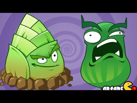 Plants Vs Zombies 2: Dandelion Nuclear Cucumber Kung Fu World New Plant (China Version)